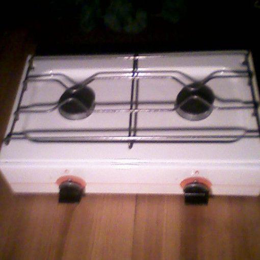 kuchenka gazowa dwupalnikowa, 50cm, n o w a