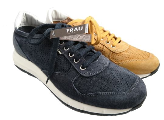 Italian sneaker for men, made in Italy by Frau