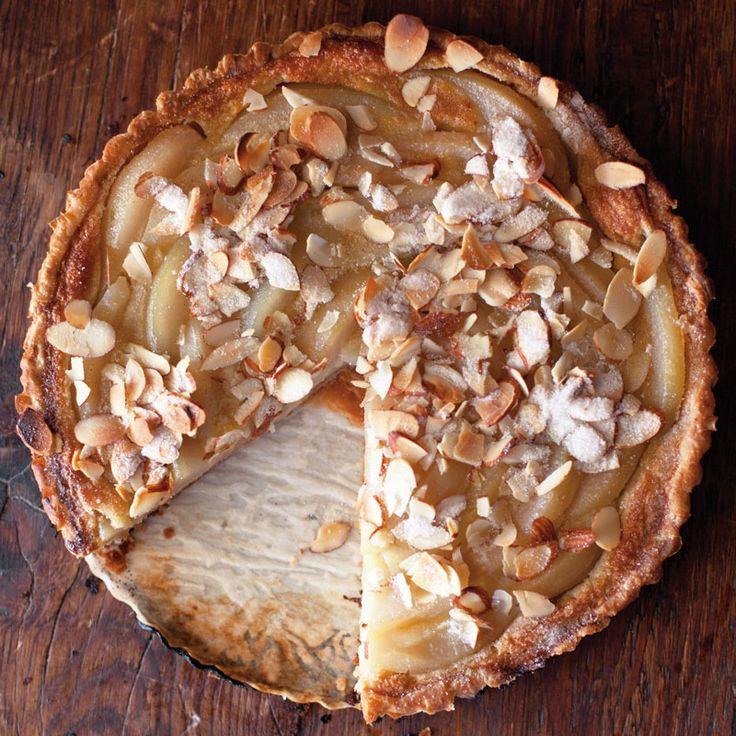 Pear-Custard Tart