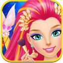 Mermaid Salon App iTunes App Icon Logo By Libii Tech Limited - FreeApps.ws