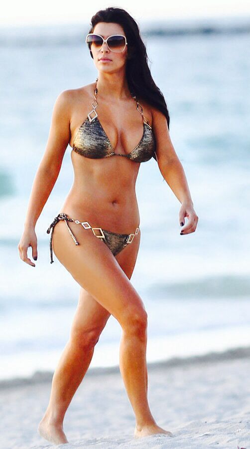 Kim Kardashian in Beach Bunny Swimwear. My Favorite Swimsuit, wish they still sold it. :0(