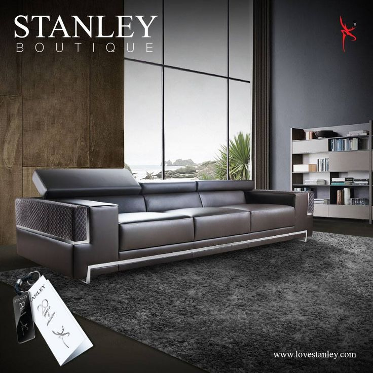 Steely Sensuality For Furniture That Combines The Sleek Strength Of Metal  With The Soft Feel Of