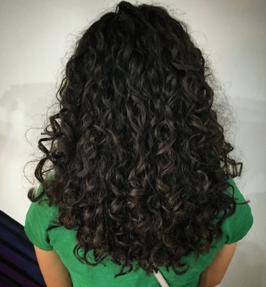 Curls Forever Awesome Haircut And Style By Rebekah Using