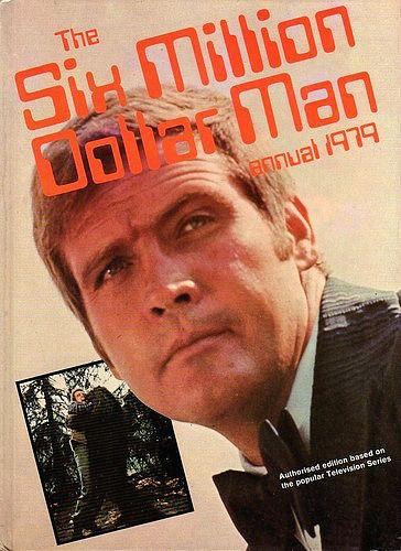 The Six Million Dollar Man Annual 1979