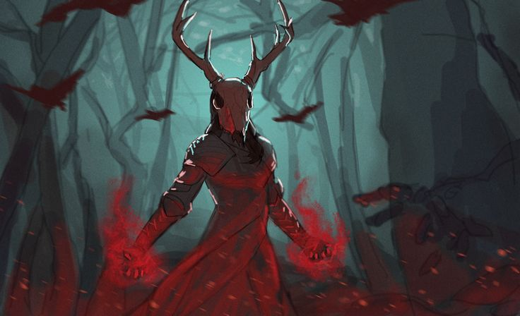 quick sketch of Cinder Fall as the Autumn Queen in ...