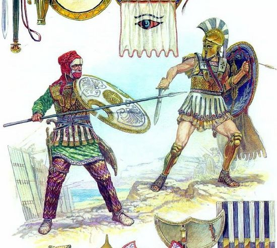 a history of the battle between the persian empire and the greeks The battle of salamis was fought between an alliance of greek city-states and the persian empire in september 480 bc, in the straits between the mainland and salamis, an island in the saronic gulf near athens.
