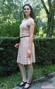 Первое платье крючком, как у Кайли Миноуг!! - Вязание - Страна Мам