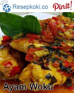 Resep Membuat Ayam Woku