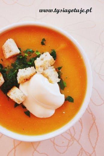 Zupa krem jarzynowa gości u Nas bardzo często zwłaszcza w okresie zimowym.   Jak przystało na zupy w postaci kremu jest gęsta, aromatyczna ...