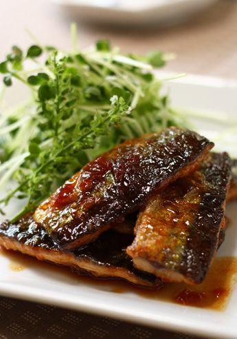 さんまの梅照り焼き by ハナウタ☆ [クックパッド] 簡単おいしいみんなのレシピが249万品