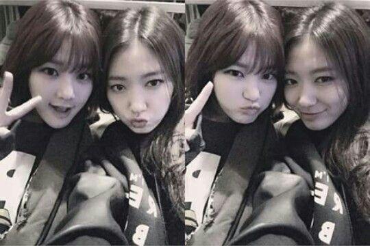 Lee Yoo Bi and Park Shin Hye