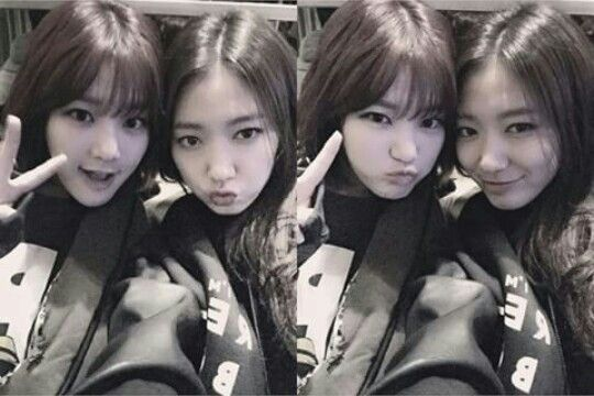 Lee Yoo Bi and Park Shin Hye