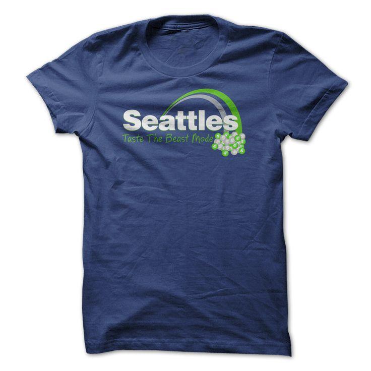 Seattles - Taste The Beast Mode T Shirt T Shirt, Hoodie, Sweatshirt