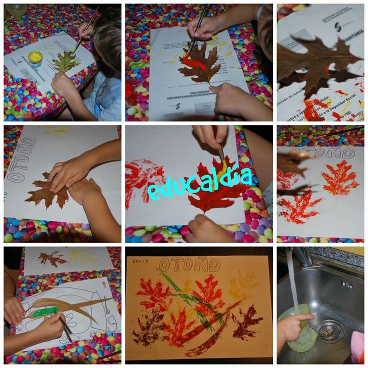 EDUCALDIA: Actividades de otoño en casa
