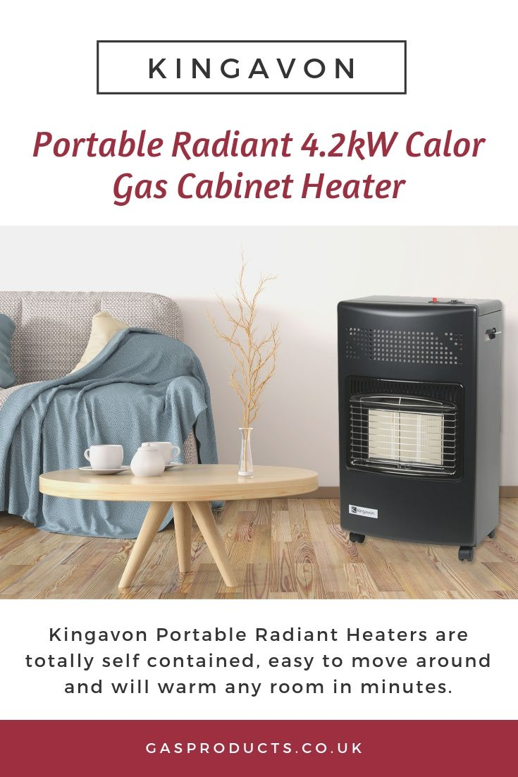 Kingavon Portable Radiant 4 2kw Calor Gas Cabinet Heater Radiant Heaters Heater Gas