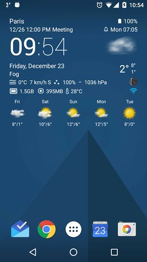 Transparent clock & weather Pro v0.99.02.38 [Paid]   Transparent clock & weather Pro v0.99.02.38 [Paid]Requirements:2.3Overview:Transparent clock & world weather is a full featured completely customizabledigitalclock and weather forecast application and widget.  Description The application features the following: - Many widgets in different sizes - Resizable widgets - Several widget skins to choose from - Different weather icon skins - Different fonts for the time - Display the next alarm…