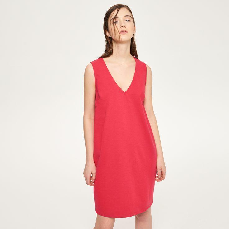 Sukienka bez rękawów, RESERVED, QZ983-43X