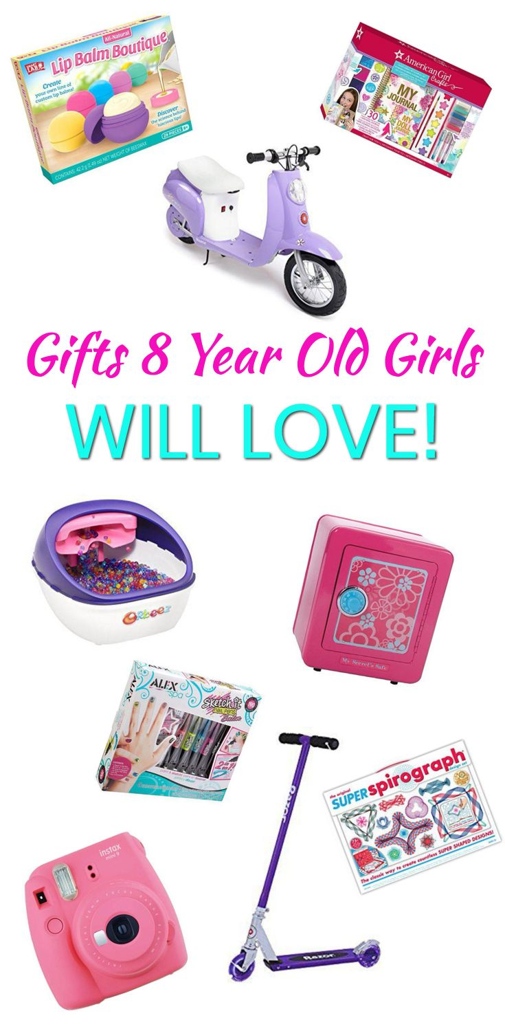 Gifts 8 Year Old Girls The Best Gifts For An 8 Year Old Girl Great For Birthdays Christmas E 8 Year Old Christmas Gifts 8 Year Old Girl Cool Toys For Girls