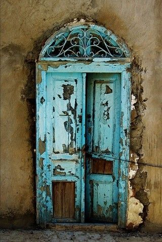 Love how rustic the door looks and how much character it has