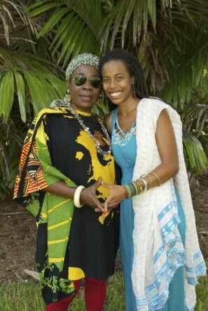 Copy of Donisha & her grandmother, Rita Marley