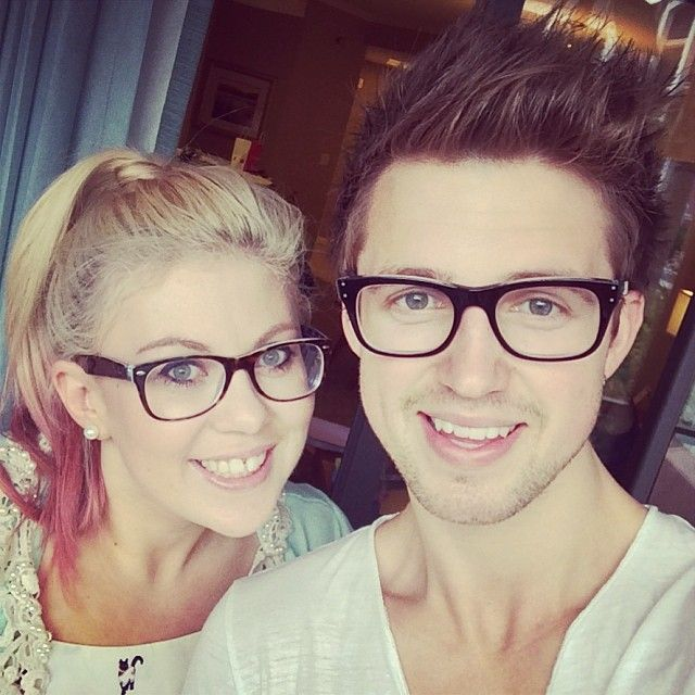 Cause glasses are cool B) Marcus Butler and SprinkleofGlitter ...