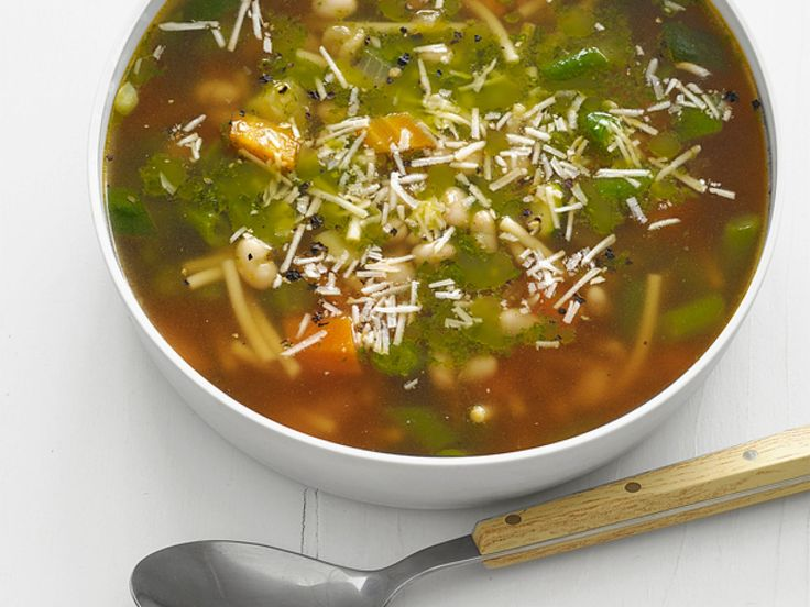 Pistou Soup recipe from Food Network Magazine via Food Network