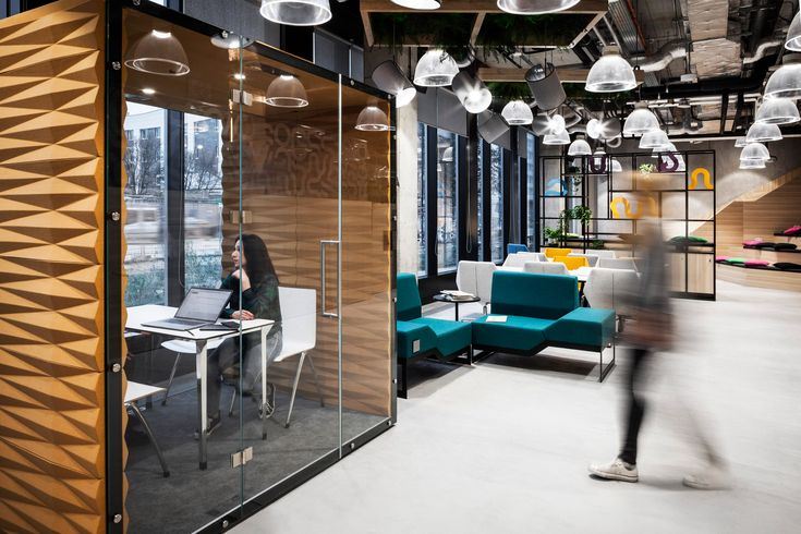 Vank's soundproof pods offer private workspaces for open-plan offices