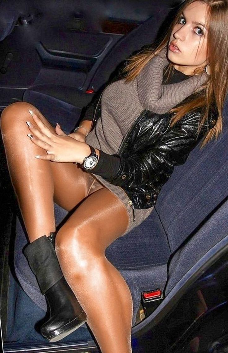 Great pantyhose in the car want