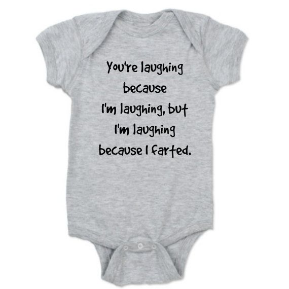 Baby Boy Newborn Clothes Funny Baby Girl by CustomPrimePrints