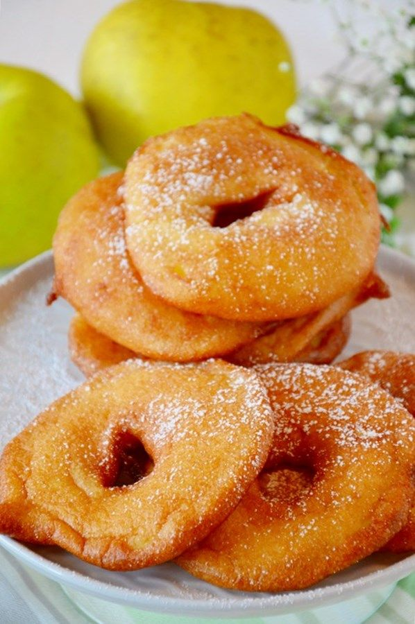 Rondelle di mela fritte