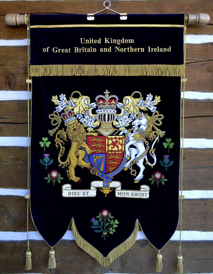 Ceremonial Flag for United Kingdom.