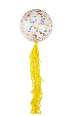 Happy Confetti Jumbo + Fringe