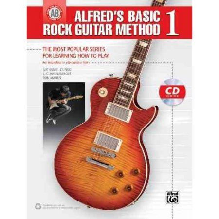 Alfred's Basic Rock Guitar Method 1: The Most Popular Series for Learning How to Play