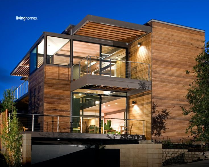 Awesome Modern Modular Prefab House With Wooden Wall And