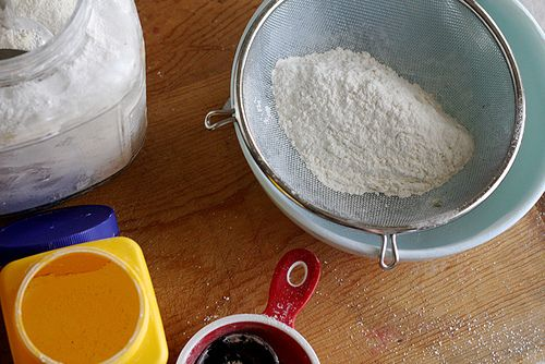 How to make your own cake flour! Good to know, because it is so expensive to buy it at the store.
