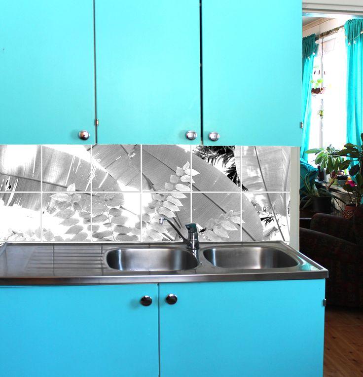 Kitchen backsplash design. www.kerafiikka.com