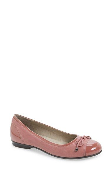 ECCO 'Touch' Ballerina Shoe (Women) available at #Nordstrom