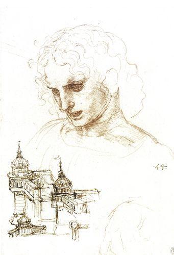 Studio per il cenacolo e progetti architettonici - Leonardo - Opere d'Arte su Tela - Listino prodotti - Digitalpix - Canvas - Art - Artist - Painting