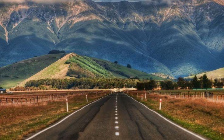Road In New Zealand Retina MacBook Pro Wallpapers