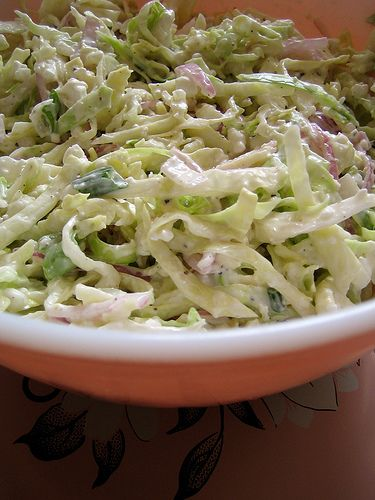 salad days: creamy cabbage slaw & a tuna sandwich | Everybody Likes Sandwiches