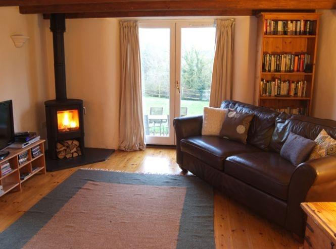 ? Small wood burner in kitchen snug area?   Log burner ...