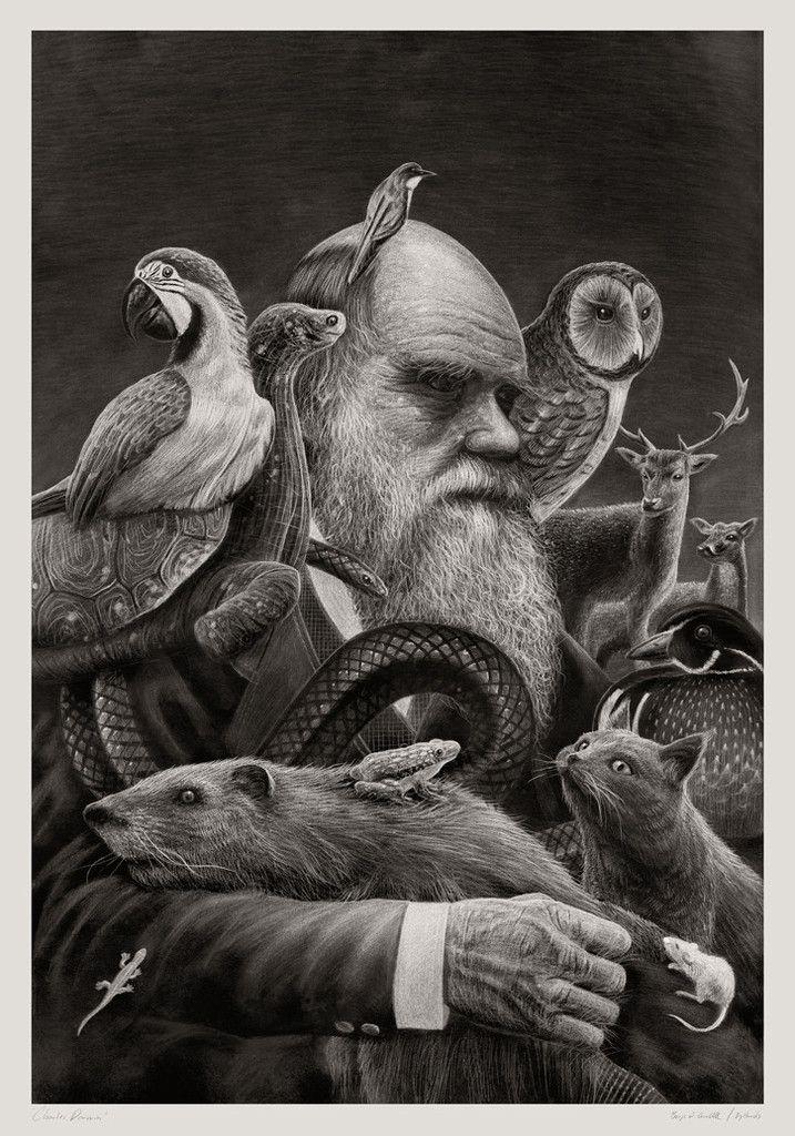 Charles Darwin – byHands - Webshop