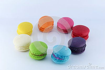 Macaron is a French sweet meringue-based confection made egg white or aquafaba, icing sugar, granulated sugar, almond powder and food colouring.
