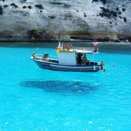 Floating in the air. Paxoi island, Ionian Sea, Greece.  - Selected by www.oiamansion.com