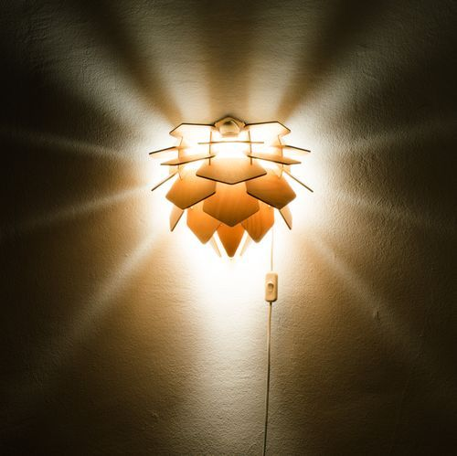 Pogo S Is Part Of A Lamp Family Inspired By Nature. It Has Been Designed  Using Parametric Tools, Mimicking The Opening Of Flower Petals.