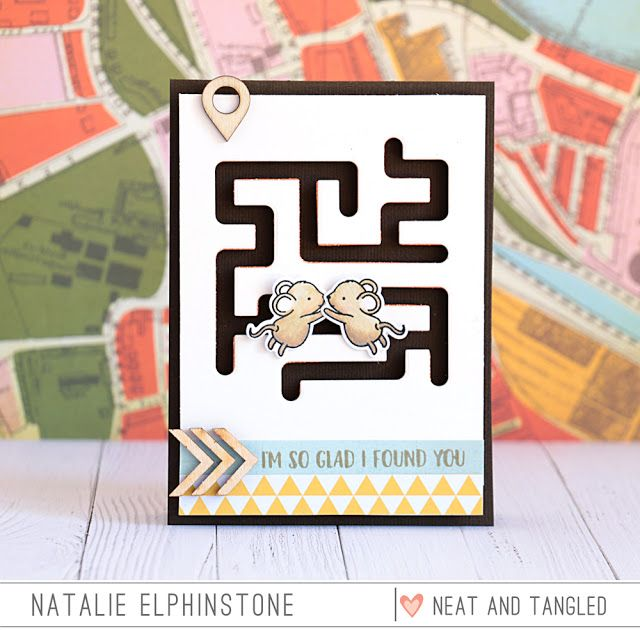 Interactive Maze Card Video Natalie Elphinstone Paper Crafts Cards Paper Cards Embossed Cards