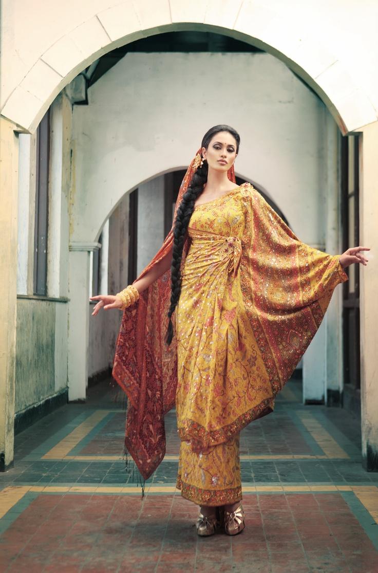 Inspirasi dari India.//Inspired by India.
