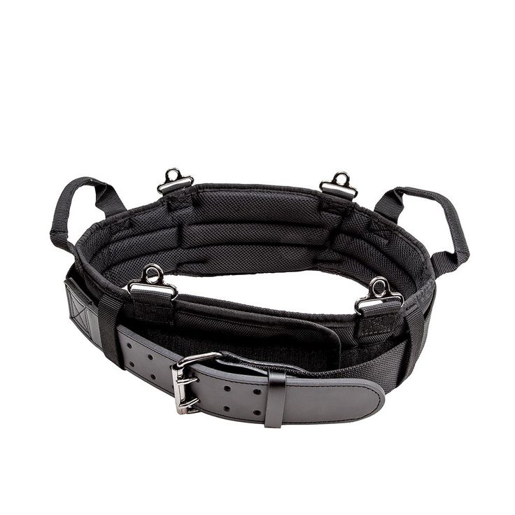 Klein Tools 5246 Tradesman Pro Padded Tool Belt, Large,