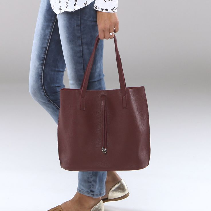 Wine Tote with additional clutch