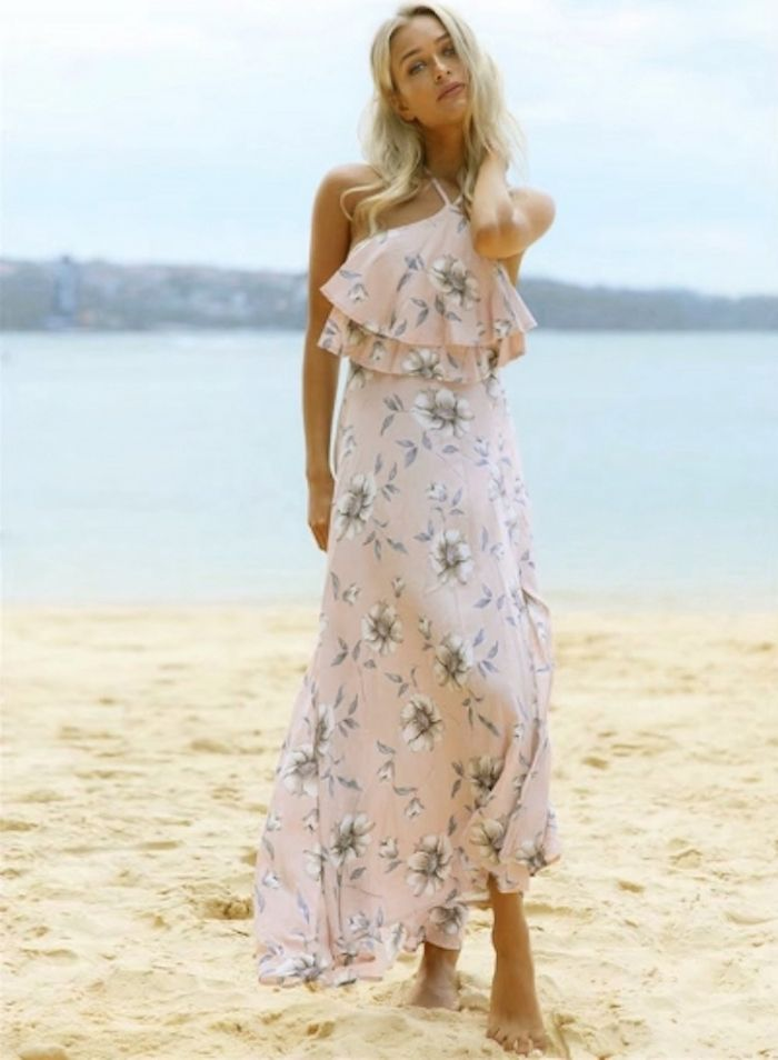 6dfb356fd83 Quelle est la plus belle robe boheme longue robe longue hippie chic plage  tenue mariage sur